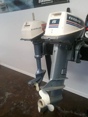 15 HP Evinrude 1983 2-Stroke Short Shaft - $800