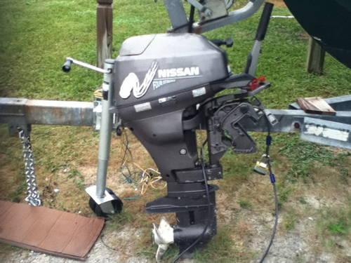 15 Hp Nissan Outboard 4 Stroke 2001 For Sale In Cape