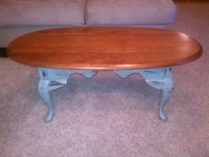 $150 OBO Ewly Refinished Solid Cherry Coffee Table