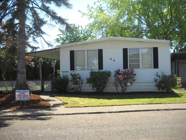 home listed in 55 community rent special for sale in salem oregon