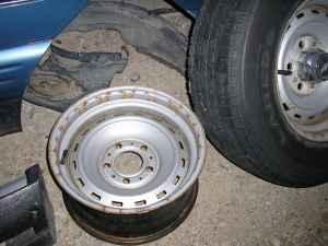 15X8 Chevy Rally Wheel -2 - $50 Topeka, Ks
