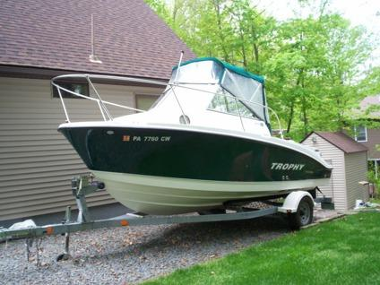 $16,000 OBO 2005 Trophy Fishing Boat WA1952 19'