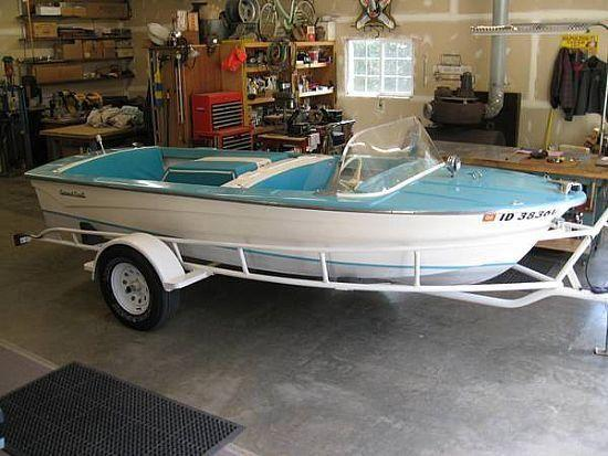16 39 1963 correct craft american skier for sale in camano for Correct craft trailer parts