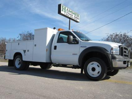 $16,500 2005 Ford F-550 11 Utility  Service  Mechanic Truck