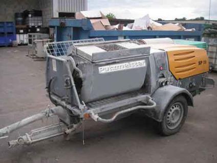 $16,500 OBO Putzmeister SP-11 Hydraulic Pump  Mixer Combo