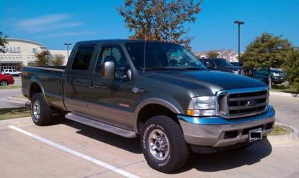 2004 f350 super duty king ranch edition 6 0 diesel for sale in midlothian texas classified. Black Bedroom Furniture Sets. Home Design Ideas