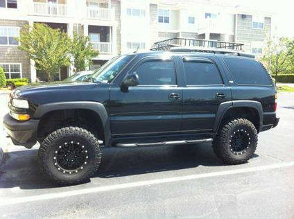 2007 Tahoe For Sale >> Black 2005 Tahoe Z71 4x4, lifted w/35 MTs for Sale in Virginia Beach, Virginia Classified ...