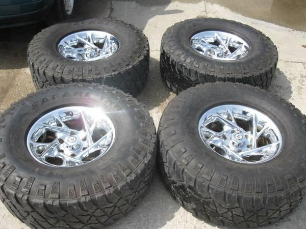 """16"""" AMERICAN RACING WHEELS WITH 315/75/R16 MUD AND SNOW ..."""