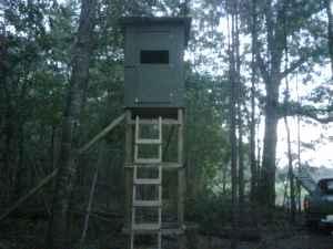 16' box stands tree stands deer - $500 (dunn /