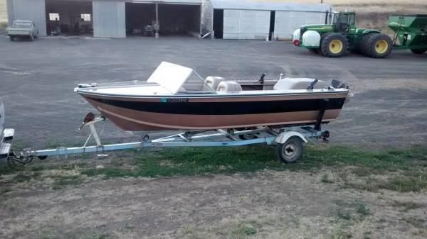 16 foot aluminum boat for sale in colfax washington for 16 ft fishing boat