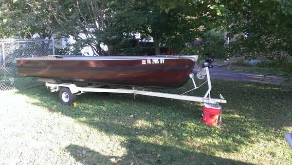16 foot jon boat for sale in lynchburg virginia classified. Black Bedroom Furniture Sets. Home Design Ideas