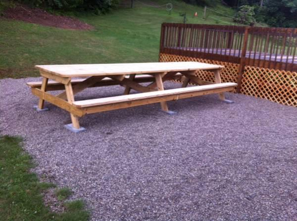Foot Picnic Table For Sale In Parkersburg West Virginia - Long picnic table for sale