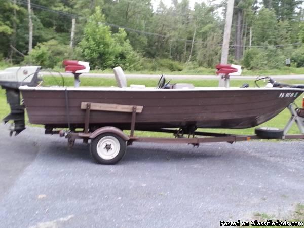 16 Foot Sea Nymph Bass Boat For Sale In Balls Mills