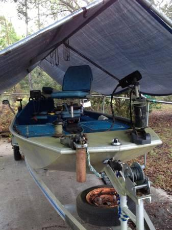 16 ft aluminum fishing boat for sale in mexico beach for Best aluminum fishing boat for the money