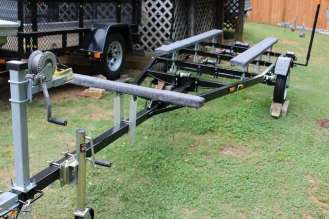 16 ft tilt galvanized boat trailer