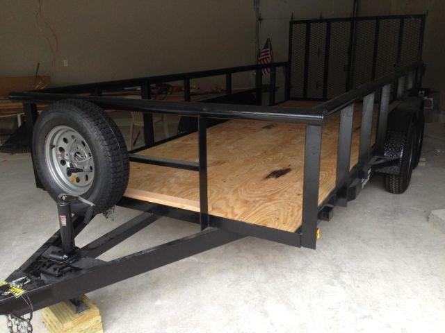 16' Heavy Duty Trailer