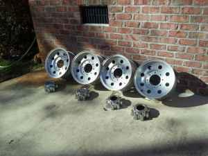 16 inch 8 lug Factory Ford Rims - $500