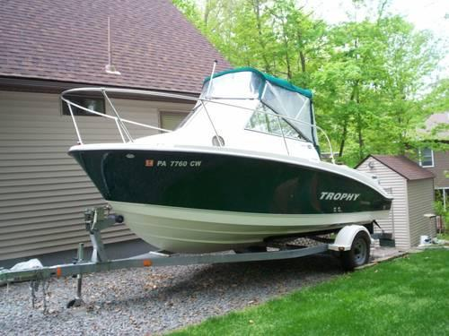 16 Kingfisher Fishing Boat With Sealion Trailer