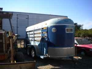 16' Stock Trailer - $2100 (Dripping Springs TX)