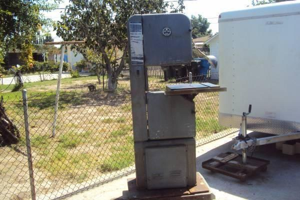 16 Walker Turner Variable Speed Band Saw