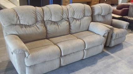 Double Recliner Sofa Amp Matching Recliner Chair For Sale In