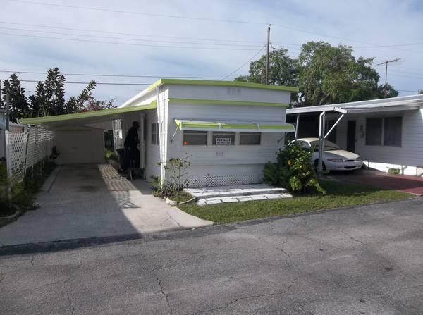 1br lovely mobile home for sale in braden river for 1br mobile home