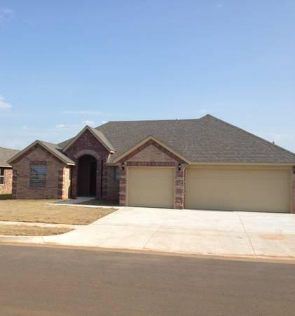 4br 1850ft brand new home mustang schools for rent