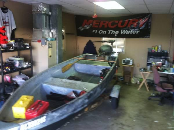 16ft alum boat for sale or trade for sale in cullman alabama classified. Black Bedroom Furniture Sets. Home Design Ideas