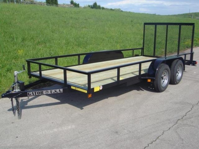 Modular Atv Trailers : Ft utility trailer atv tandem axles with