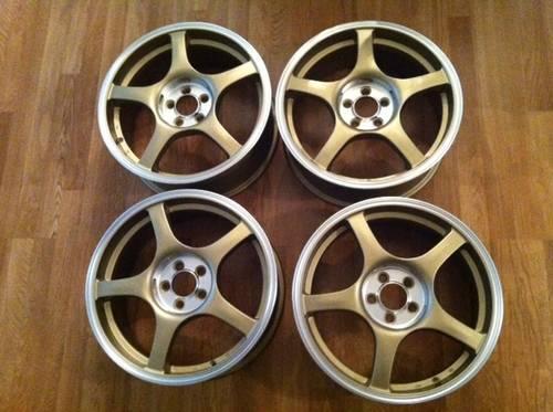 17 Quot 5 Spoke Lightweight Racing Wheels In Bronze Finish W