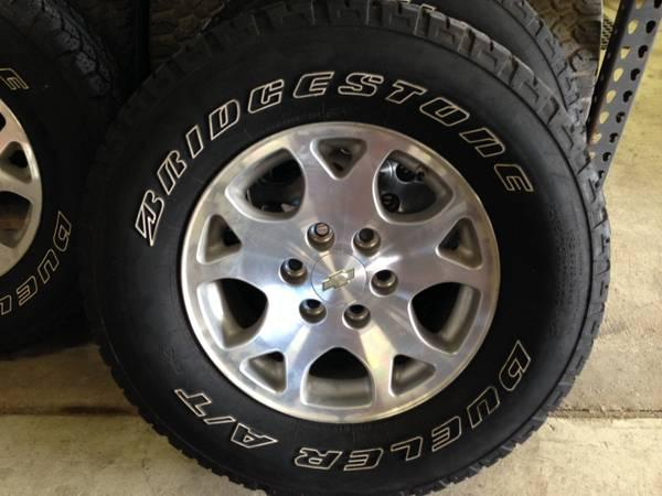 """17"""" 6 lug Chevy Rims w/ Tires - for Sale in Altoona, Iowa ..."""