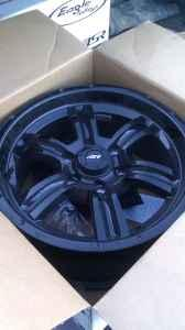 17'' Chevy/GMC AR Trench rims - $350 (crosslake)