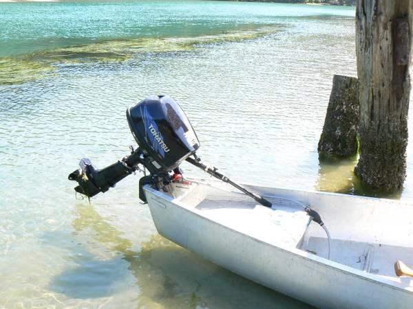 17 Flat Back Canoe Amp Motor For Sale In Fort Bragg