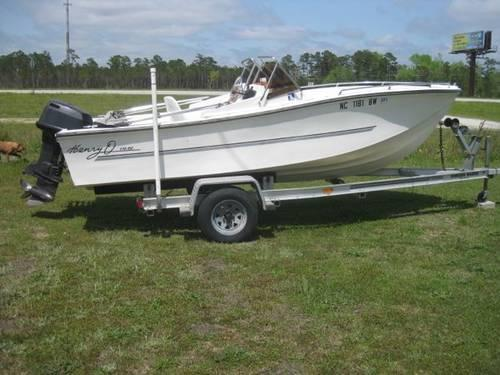 17 39 Henryo Boat 100 Hp Motor Alum Trailer For Sale In