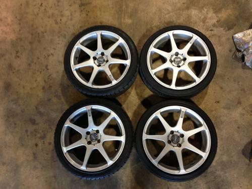 17 Inch 4x100 Konig Tantrum Rims Wheels For Sale In