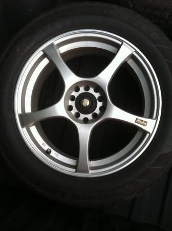 17 inch enkie wheels and tires - $375