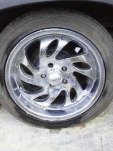 17 inch rims - $350 leland