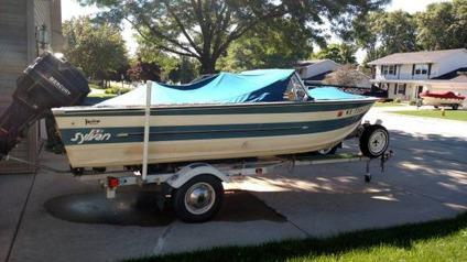 17 39 sylvan salmon walleye boat for sale in green bay for Walleye fishing boats for sale