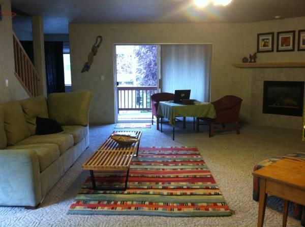 $1700 / 2br - 2000ft² - Large Light Cozy Condo in Town