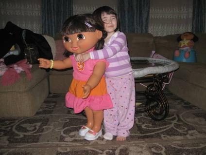 $175 Collectible - Giant Dora the Explorer Doll