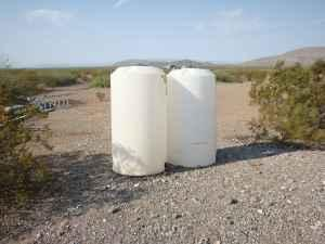 175 gl. water storage tanks - $110 (Presidio,tx)