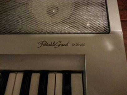$175 Yamaha Portable Grand DGX-205 (Cordova/Bartlett)