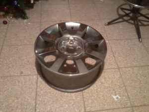 17in fatory ford wheels - $140 (west allis)
