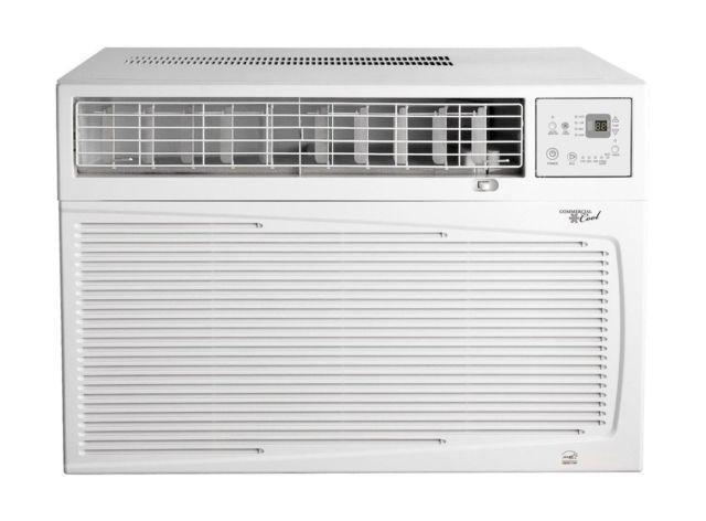Window Heat Air Conditioner Units : Btu window air conditioner w heat for