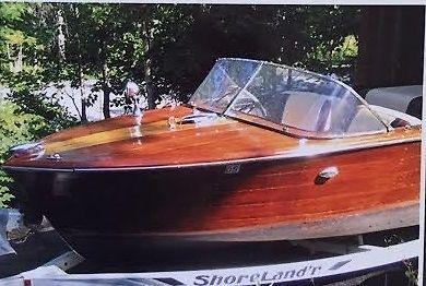 18' 1960 Chris Craft Continental