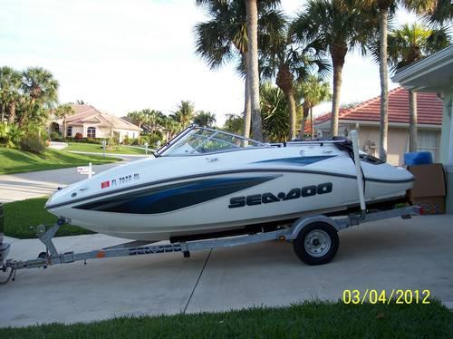 18 2007 Sea Doo 180 Challenger Se For Sale In Vero Beach