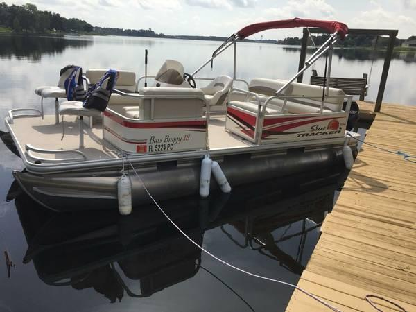 18 39 2011 sun tracker bass buggy 18 for sale in polk city for Tracker outboard motor parts