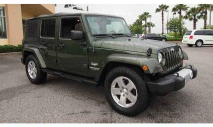 2008 jeep wrangler unlimited sahara for sale in jacksonville florida classified. Black Bedroom Furniture Sets. Home Design Ideas