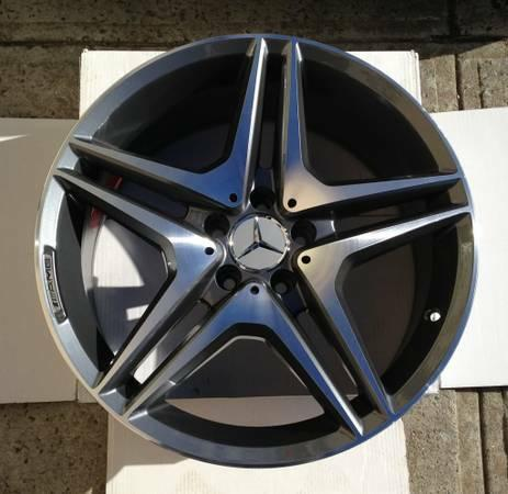 18 amg style wheels stag rims mercedes benz e350 550 for Mercedes benz amg rims for sale