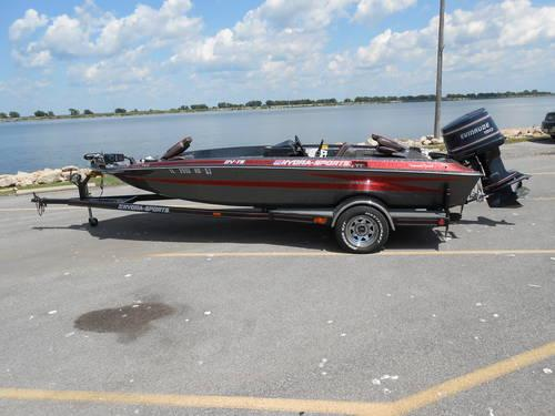 Lowrance Depth Finder >> 18 ft Bass Boat ~ Hydra Sports Tournament Series w/ 150 hp ...